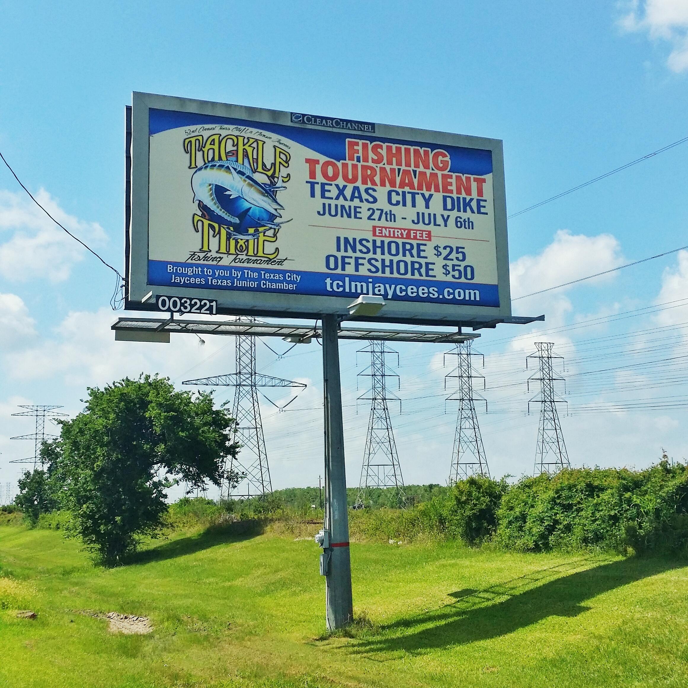Tackle Time Billboard